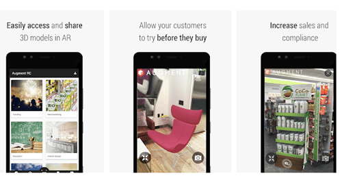 Augmented Reality App For Ecommerce
