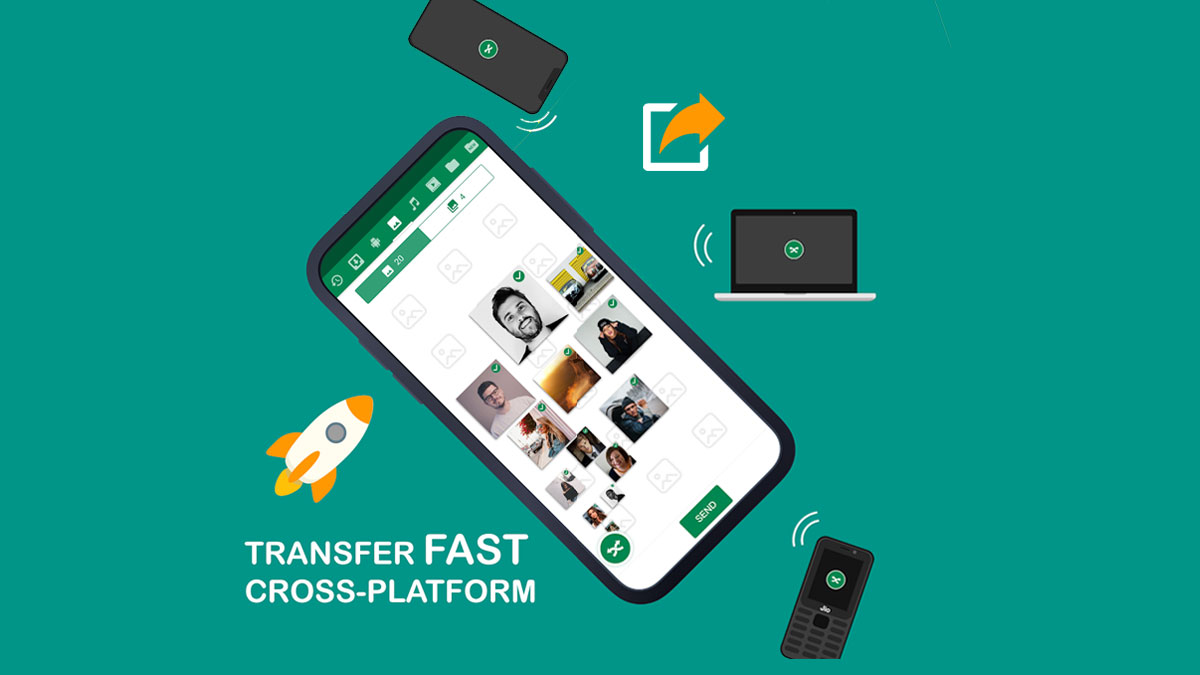 best file sharing app file transfer app