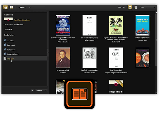Adobe Digital Editions ePub Book Reader