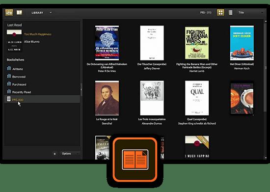 Adobe Digital Editions ePub Book Reader