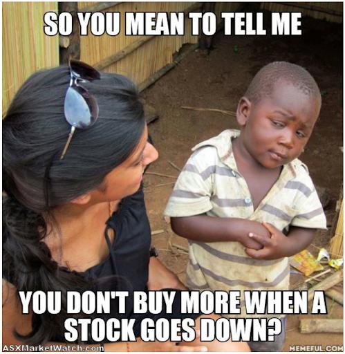 Funny stock market memes