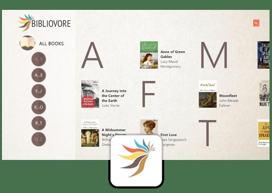 Bibliovore ePub Book Reader