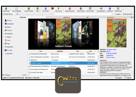Free epub reader book reader
