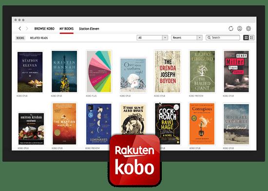 Rakuten Kobo Epub Reader