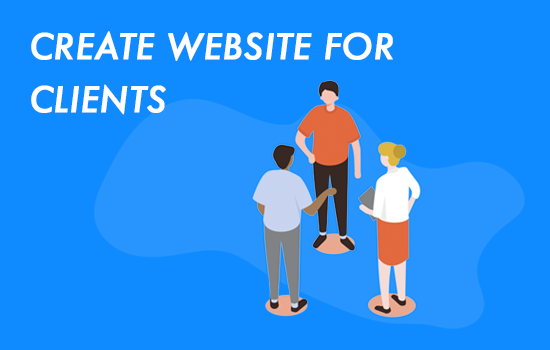 create website for clients