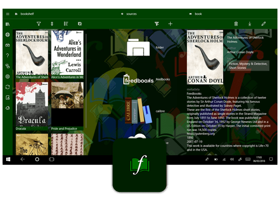 Freda Epub Book Reader