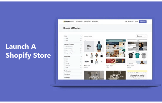 launch a shopify stop