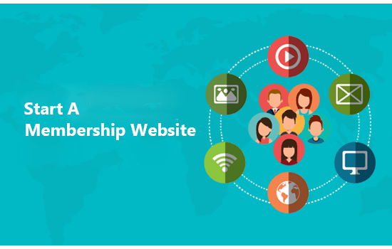 start a membership website
