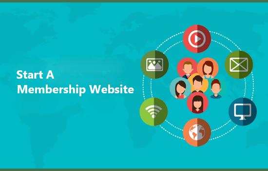 start a membership website
