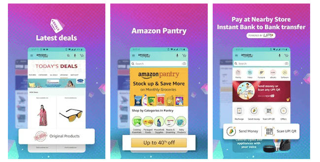 Amazon is India's best online shopping app