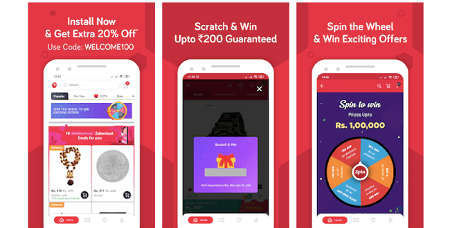 Snapdeal - India's one of the leading shopping apps