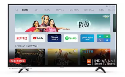 Best 32 inch smart TV from Mi