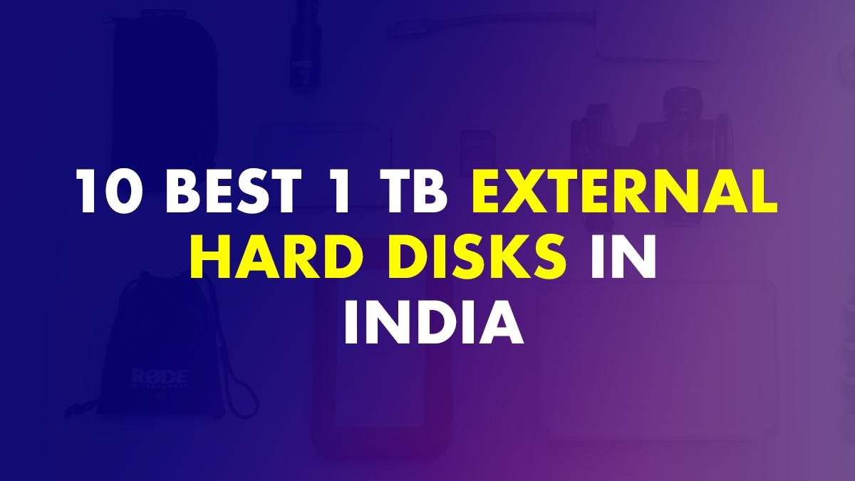 1 TB External Hard Disks