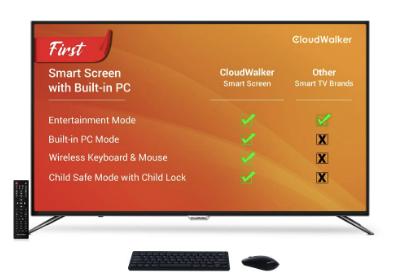 CloudWalker 65 Inches 4K LED TV