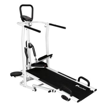 PowerMax Fitness MFT 410 Manual Treadmill