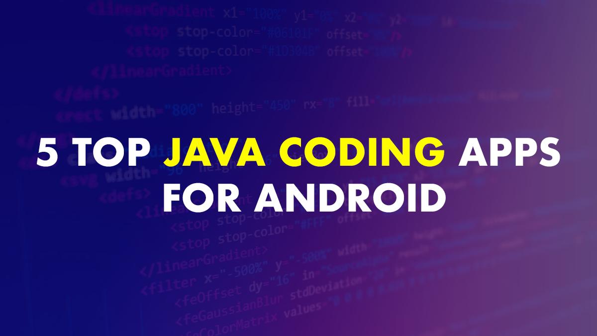 Java Coding App