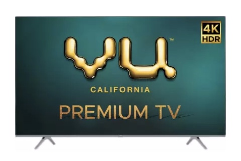 VU Smart 4K LED TV