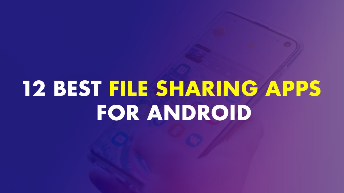best file sharing app file transfer app