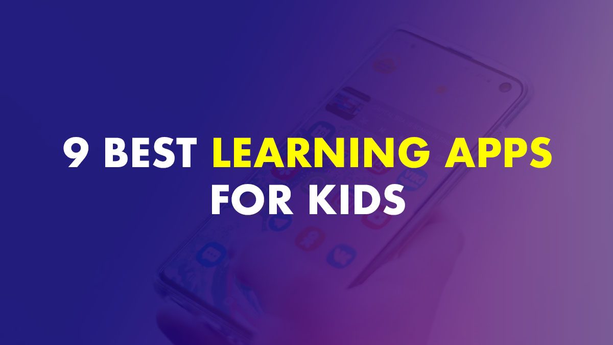 Best Learning Apps For Kids In India