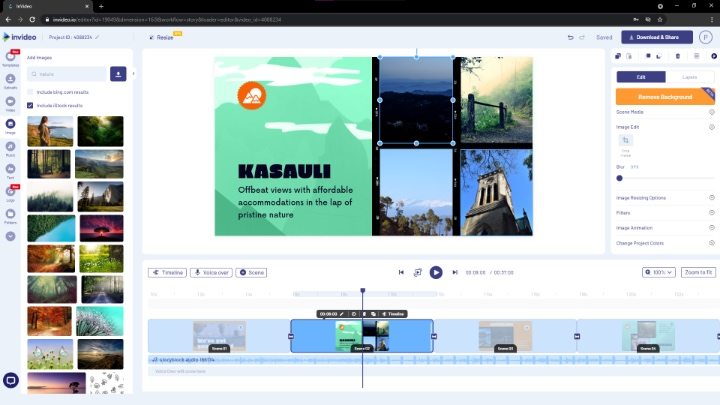 InVideo - Free Video Editing Software