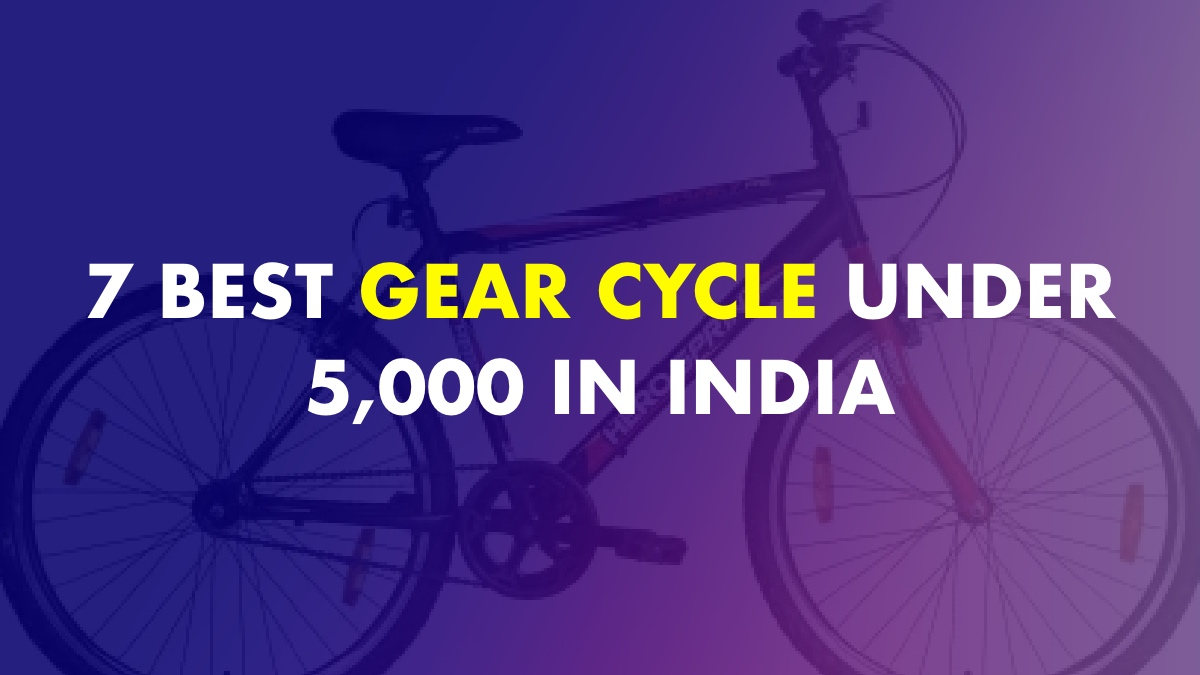 Best Gear Cycle Under 5000 In India