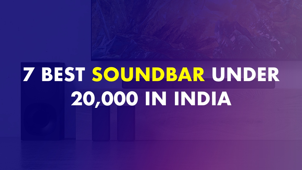 Best soundbar under 20000