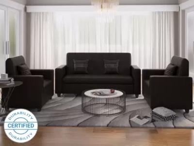 Flipkart Perfect Homes Leatherette Sofa Set