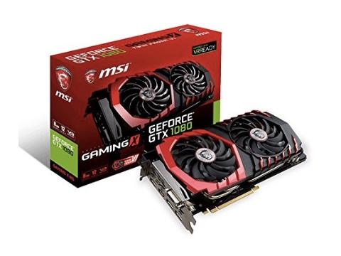 MSI GeForce GTX 1080 Gaming X 8GB Graphics Card