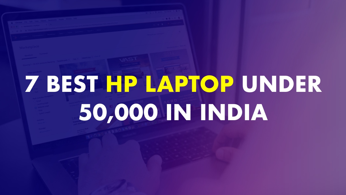 Best HP Laptop under 50000 In India