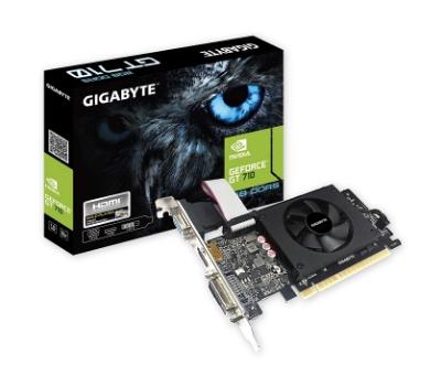 Gigabyte GeForce GT 710 2GB - Best Graphics Cards Under 5000