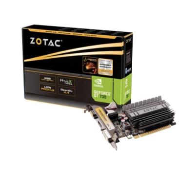 ZOTAC GeForce GT 730 4GB Graphics Card