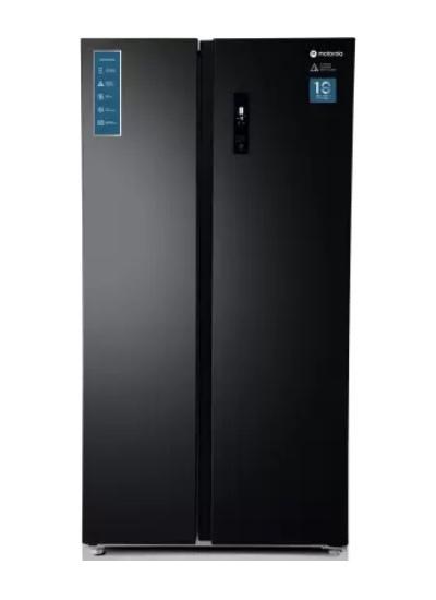 Motorola 592 L Smart Wifi Enabled Side by Side Refrigerator