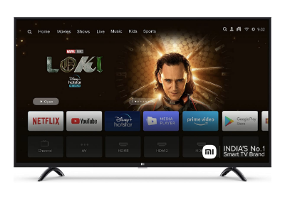 Mi 4X 4K Android TV Under 30000