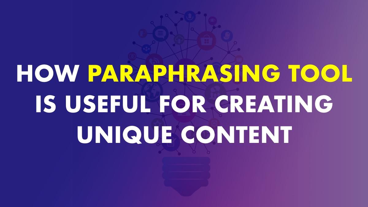 Paraphrasing Tools Online