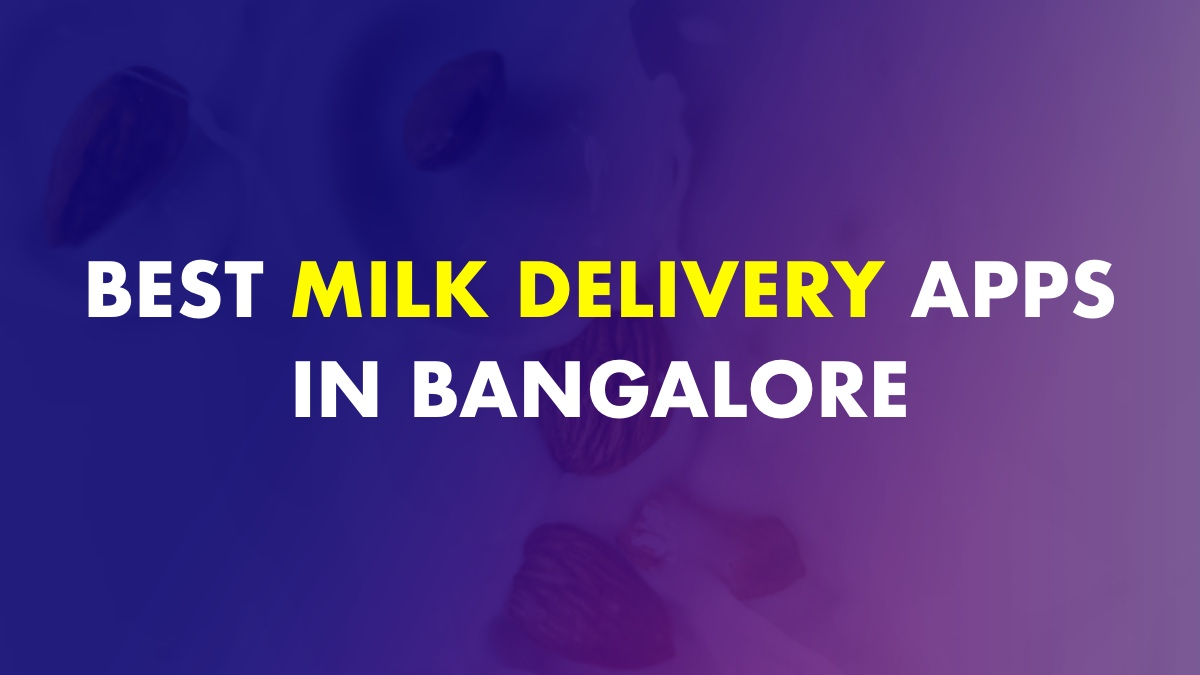 Best Milk Delivery Apps