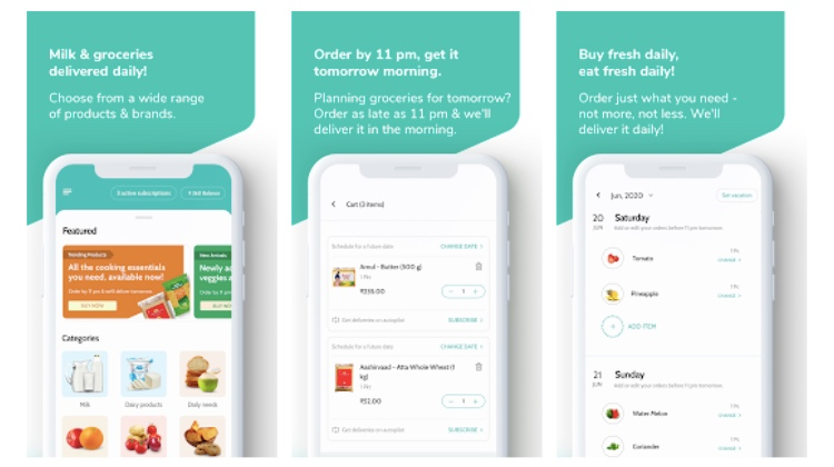 Supr Daily - Best Milk Delivery Apps